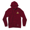 Bear Hunter Hoodie Burgundy