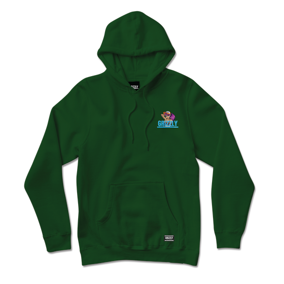 Bear Hunter Hoodie Hunter Green