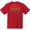 Great Outdoors Tee Red