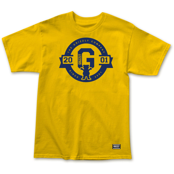 2001 Banner Tee Gold