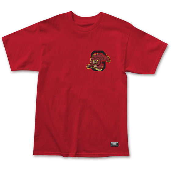 From The Depths Tee Red
