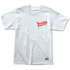 Flag Pole Tee White