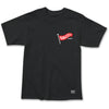 Flag Pole Tee Black