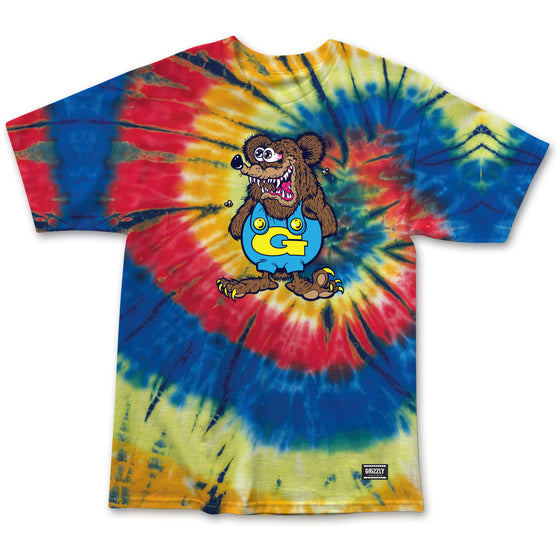 Grizzly The Bear Tee Tie Dye