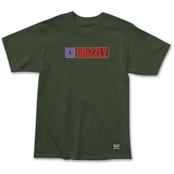 North American Tee Military Green