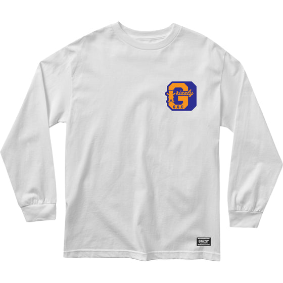 GGC BLOCK LS TEE White