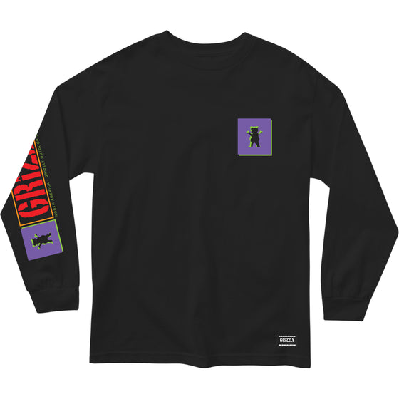 North American L/S Tee Black