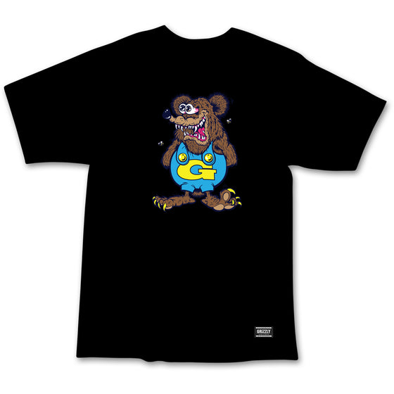 Grizzly The Bear Youth Tee Black
