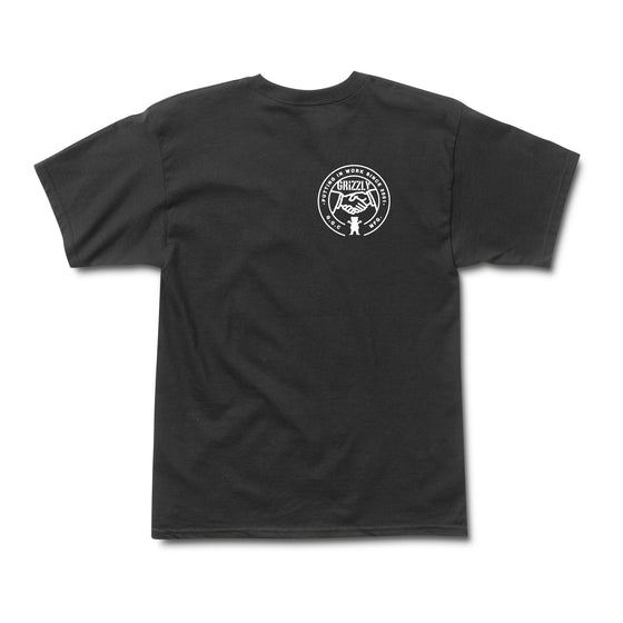 Hard Working Tee Black