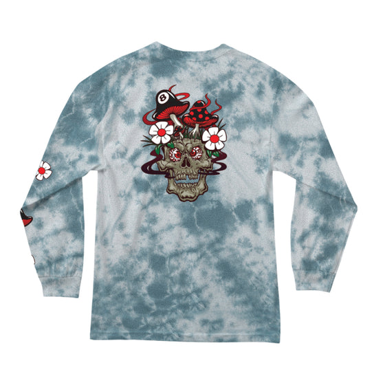 Skull Shroom Longsleeve White Lighting