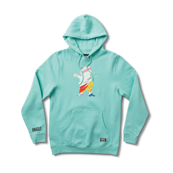 All That OG Bear Hoodie Celadon
