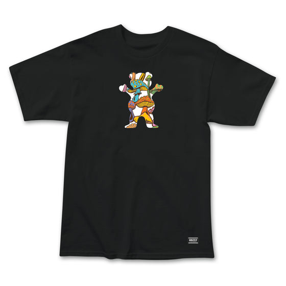 Fungi OG Bear Logo T-Shirt Black