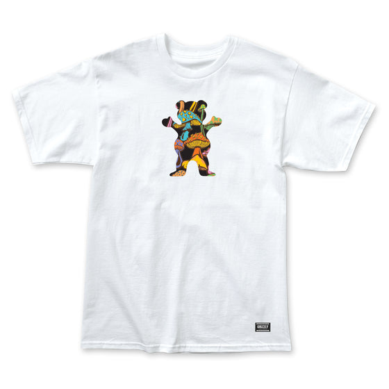 Fungi OG Bear Logo T-Shirt White