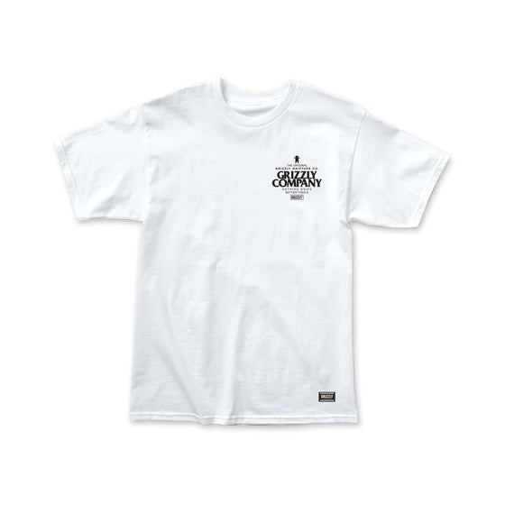 Grip Better T-Shirt White