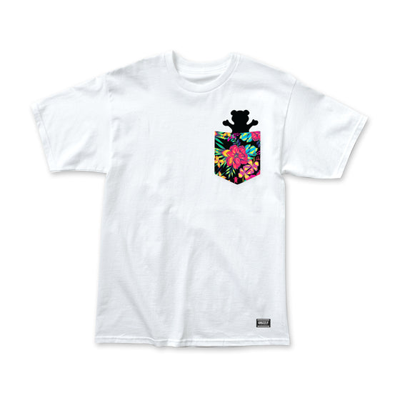 Maui Pocket Bear T-Shirt White