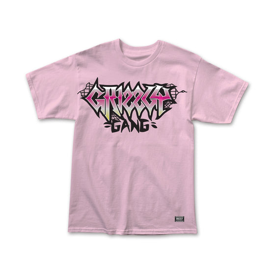 Bricked T-Shirt Pink