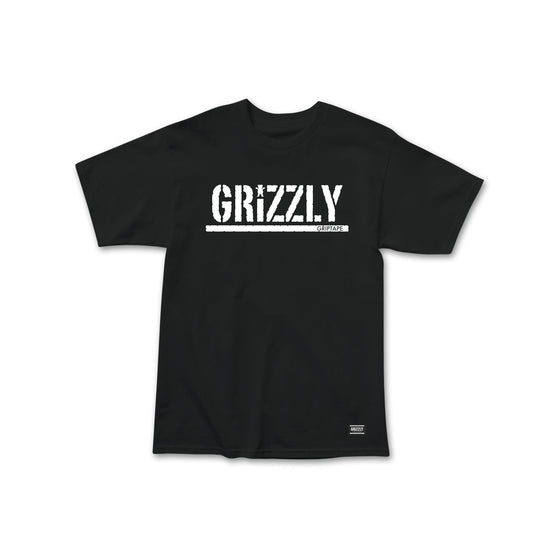 Grizzly Stamp Summer 20 T-Shirt Black