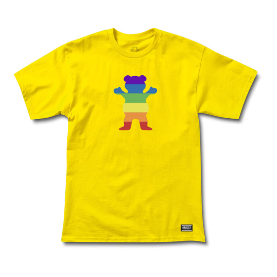 Pride Bear SS Tee Yellow