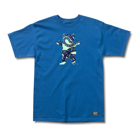 Snake Eyes Bear SS Tee Royal