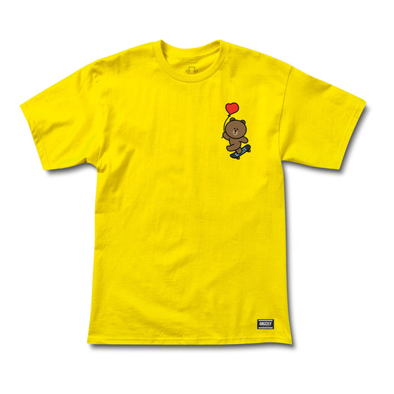 Float On SS Tee Yellow