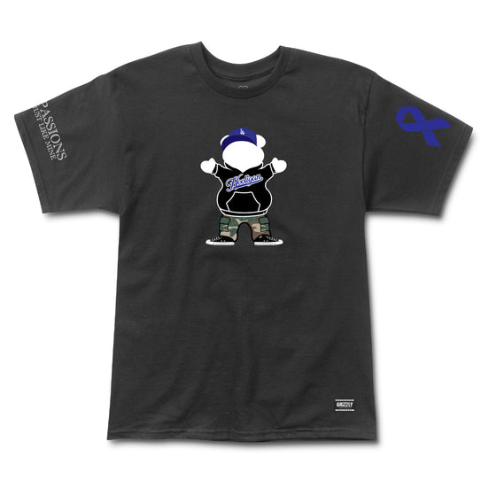 Hooligan OG Bear Tee Black