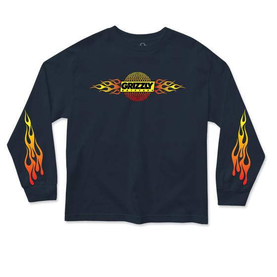 Flame Thrower Youth Longsleeve Black