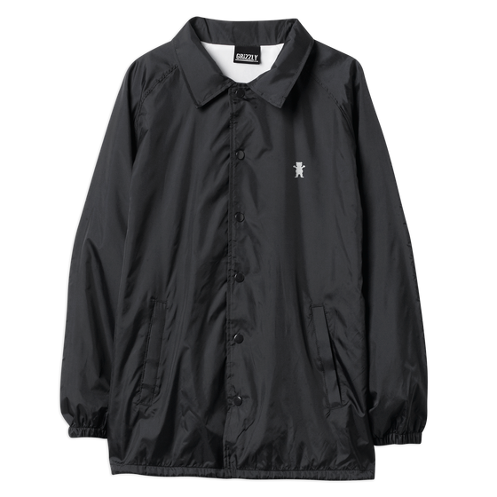 OG Bear Coaches Jacket Black