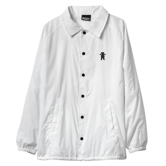 OG Bear Coaches Jacket White