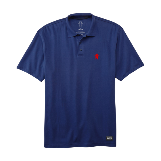 OG Bear Polo Navy