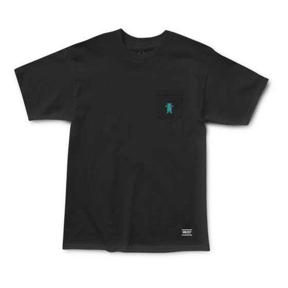 OG Bear Pocket Tee Black