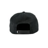 Color Block Snapback Black