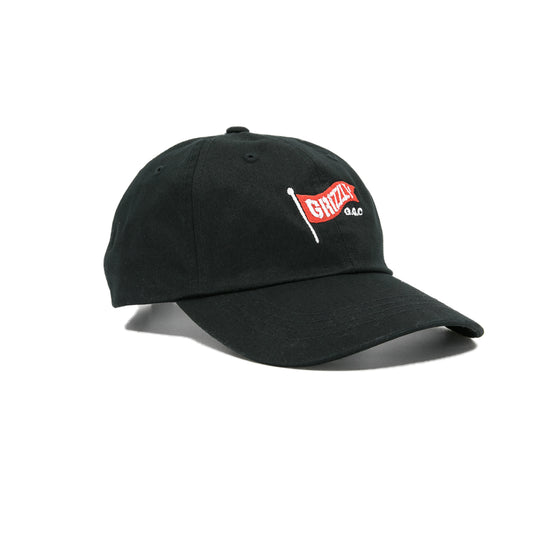 Flag Pole Dad Hat Black