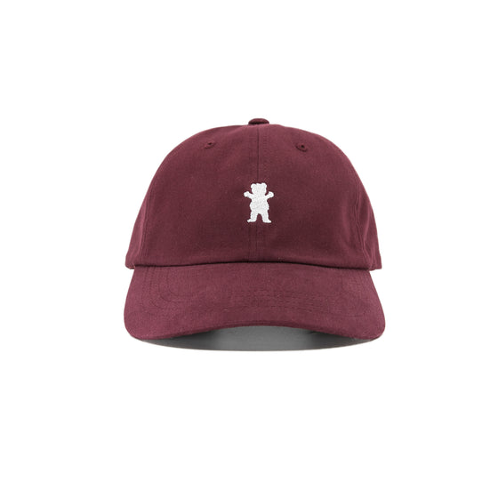 OG Bear Dad Hat Burgundy