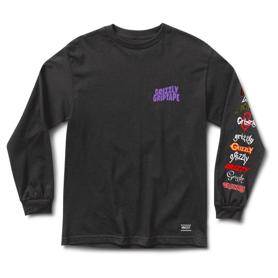 Metal Head Longsleeve Black