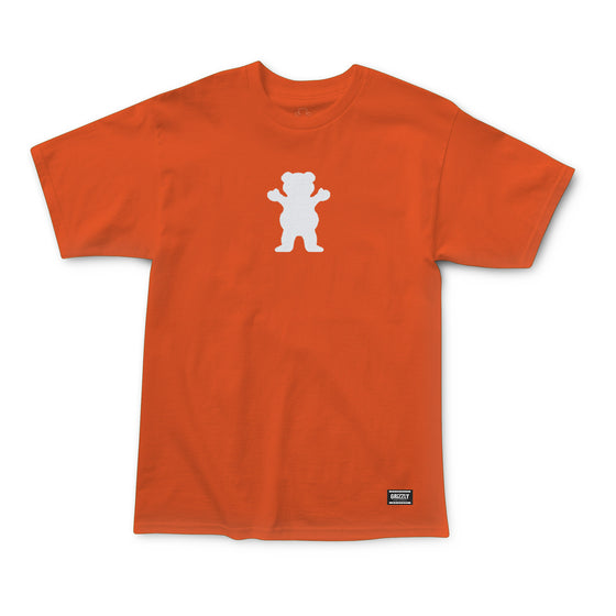 OG Bear T-Shirt Orange/White