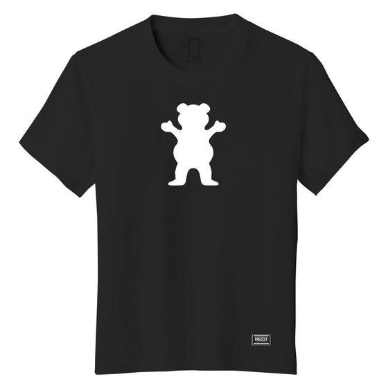 OG Bear Youth Tee Black / White