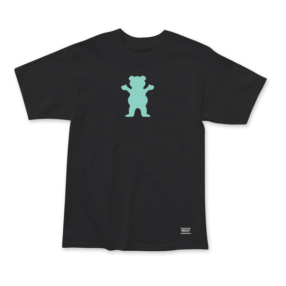 OG Bear T-Shirt Black/Mint