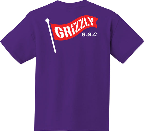 Flag Pole Tee Purple