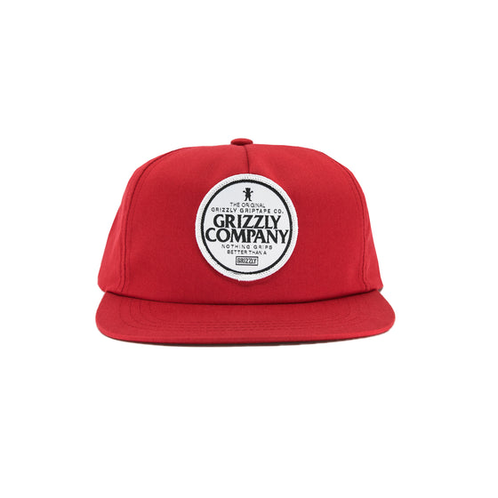 Grip Better Snapback - Red