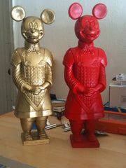 * Red and Gold General Mickeys (Sold in Pairs or Individually)