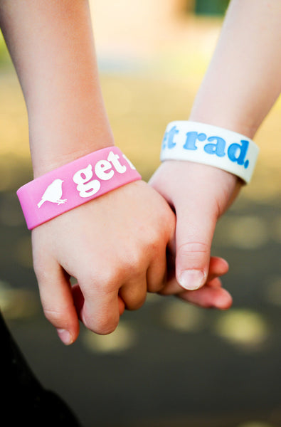 Accessories - Get Rad Silicone Wristband