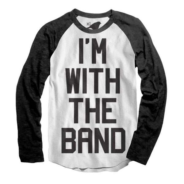 Big Kids - I'm With The Band Raglan (Adult)