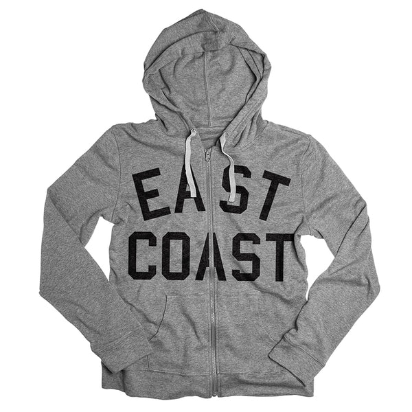 East Coast Zip-Up Hoodie Sweatshirt