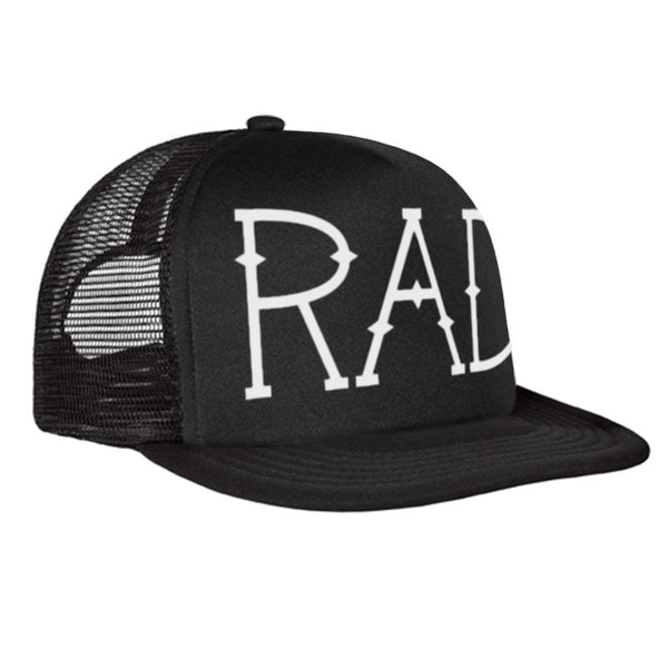 Hats - The RAD Hat Black