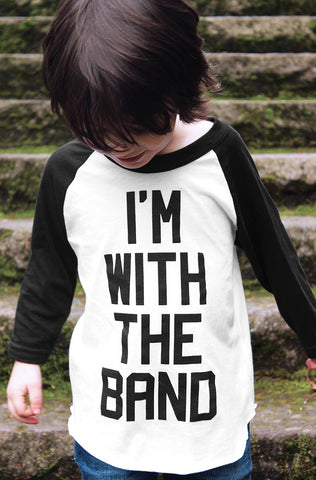 I'm With The Band Raglan (Adult)