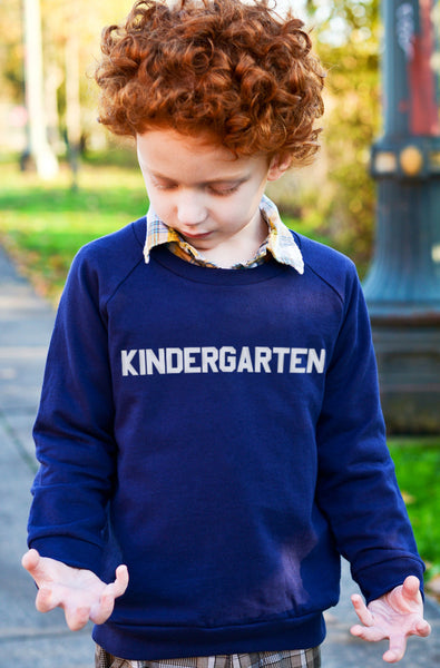 Long Sleeve - Kindergarten Sweatshirt