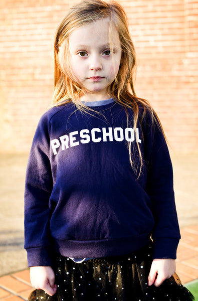 Long Sleeve - Preschool Sweatshirt