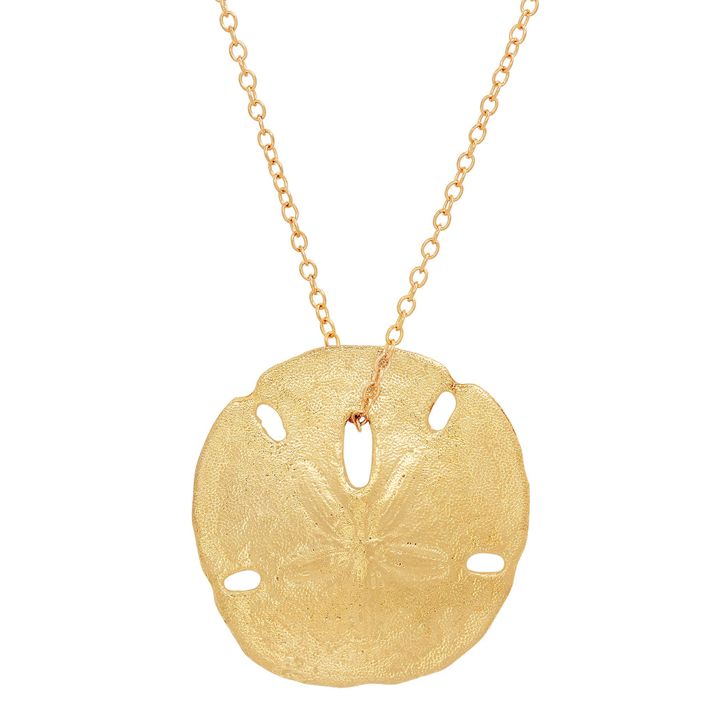 Large Sand Dollar Necklace