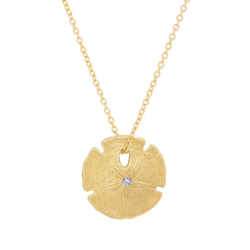 Small Sand Dollar Necklace