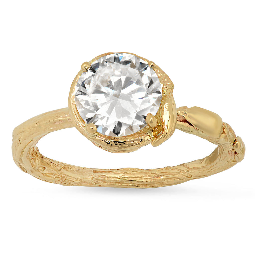 Ethical Solitaire Engagement Ring